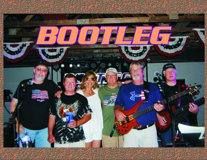 Bootleg will perform at the Crab & Bull Feast and Dance to be held Sept. 7 at the Coon Club in Hampstead.