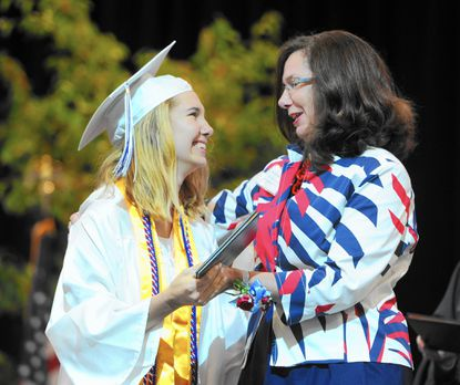 Bel Air High valedictorian encourages fellow graduates to 'revel in the moment'