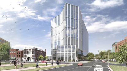University of Maryland BioPark plans 10-story gateway tower on MLK Blvd.