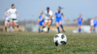 Soccer players participate in one of the many soccer tournaments held at the Carsins Run fields in Aberdeen on Saturday, March 30. Sports tourism has a nearly $50 million economic impact in Harford County, according to a recent study.