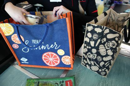 The Baltimore City Council is weighing a plastic bag ban that would encourge people to use more reusable bags.