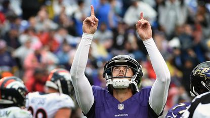Ravens kicker Justin Tucker racked up another award from the NFL after contributing to Sunday's 26-24 win against the Cleveland Browns that catapulted the team to its first AFC North title since 2012.