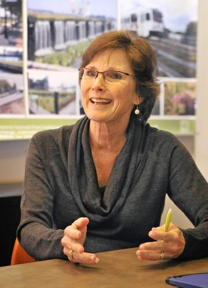 Catherine Mahan, 64, founding member of Mahan Rykiel Associates, a landscape architecture firm, is stepping down as president but will remain as chairman of the board.