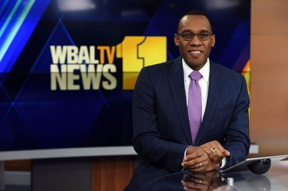 """WBAL anchor Jason Newton co-hosted WBAL's """"Building a Better Baltimore"""" with Kai Reed. The hourlong show features residents working toward solutions to the city's problems."""