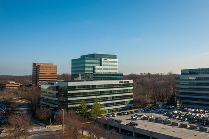A view of some of the six office buildings Howard Hughes Corp. acquired in a deal with General Growth Properties.