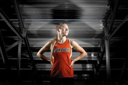 Oakland Mills senior Brit Lang, who repeated as county champion this fall, has been named the Howard County Runner of the Year for the second time.
