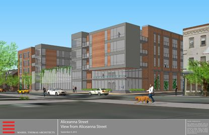 "WorkShop Development <a href=""http://www.baltimoresun.com/business/real-estate/bs-bz-aliceanna-20150916-story.html"" target=""_blank"">wants to construct </a>an apartment building with nearly 90 apartments — mostly studios and one-bedrooms — as well as 98 parking spaces at 2030 Aliceanna Street, Fells Point."
