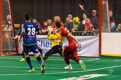 Credit: The Baltimore Blast's Facebook page. Photograph by David Rippeto.