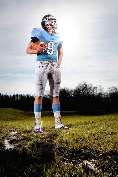 River Hill senior QB Austin Altman is the Howard County football offensive Player of the Year.