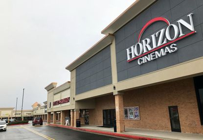 The new Horizon Cinemas movie theater, built in the former Mars supermarket in the Aberdeen Marketplace shopping center.