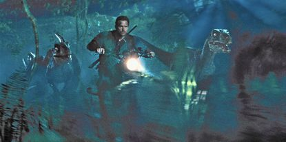 """""""Jurassic World,"""" starring Chris Pratt, is expected to bring in a domestic haul of $100 million to $130 million, according to people familiar with pre-release audience surveys."""