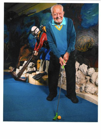 """Herbert John """"Herb"""" Schoellkopf Jr. conceived and created <a href=""""http://www.baltimoresun.com/travel/beaches/"""">Ocean City</a>'s Old Pro miniature golf courses and introduced the all-weather, 18-hole, air-conditioned indoor links."""