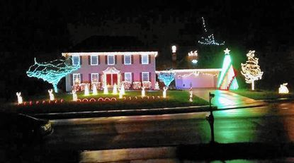Brad's Bel Air light show is ready for 'A Blue Christmas' starting Thursday, Dec. 1