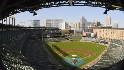 The Orioles will host the New York Yankees Sunday at Camden Yards.