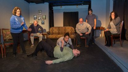 """The cast of Laurel Mill Playhouse's production of """"You Can't Take It With You."""""""