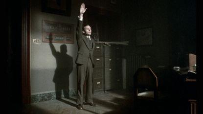 "Jean-Louis Trintignant as Marcello Clerici in ""The Conformist"""