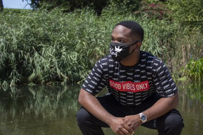 Chinenye Armstrong Christopher is currently living on campus at UMBC, a decision that he felt would help him focus on his coursework.