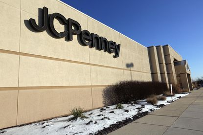 This Thursday, Jan. 8, 2015 photo shows the exterior of J.C. Penney at the Cumberland Mall in Vineland, N.J. J.C. Penney Co. announced Thursday, it will close about 40 stores this year, including this one, and cut approximately 2,250 jobs, as it tries to recover from a disastrous attempt to reshape its brand. (AP Photo/The Press of Atlantic City, Michael Ein) MANDATORY CREDIT ORG XMIT: NJATL101