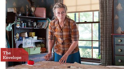 """""""I wanted to start generating my own work,"""" says star and producer Frances McDormand of """"Olive Kitteridge."""""""