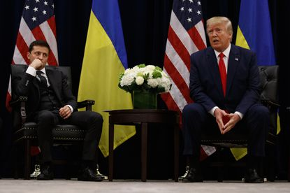 Ukraine wants to stay out of United States domestic affairs