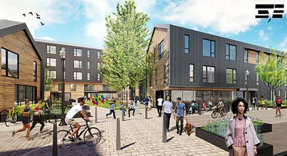 Walkable Laurel, a proposed 73-unit, mixed-use apartment project in Laurel, cleared its first hurdle July 27 after its overlay concept plan was approved at Laurel's Mayor and City Council meeting.