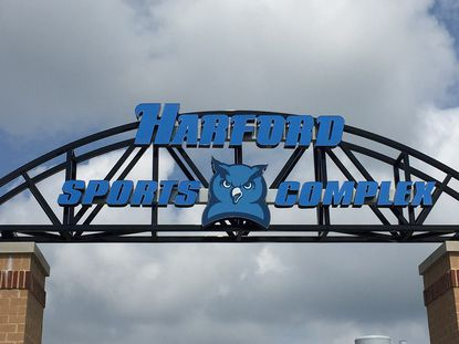 Sports are scheduled to return at the Harford Community College sports complex early in 2021.