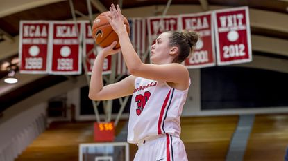 Fairfield guard Sam Lewis, seen in this courtesy photo, scored a program-record 39 points on Saturday night while helping her team to a 76-44 victory over Siena.