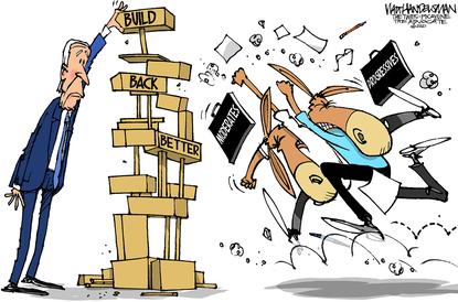 Walt Handelsman cartoon for Oct 5 2021