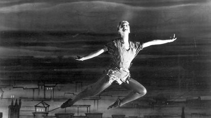"""Mary Martin in the 1955 NBC broadcast of """"Peter Pan."""""""