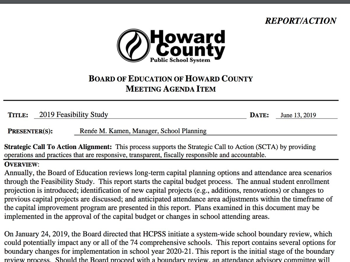 Hcpss Calendar 2020-21 On cusp of redistricting, Howard schools expect 1.4% growth in