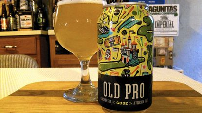 Old Pro Gose from Union Brewing.