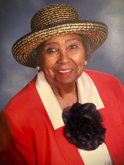 Audrey C. Pinkney began teaching Baltimore elementary school students in 1949 and later became a counselor at Hampstead Hill Junior High School. She retired in 1983.