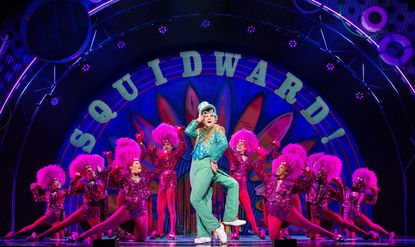 "Cody Cooley, formerly of Sykesville, performs ""I'm Not a Loser"" as Squidward in ""The SpongeBob Musical."""