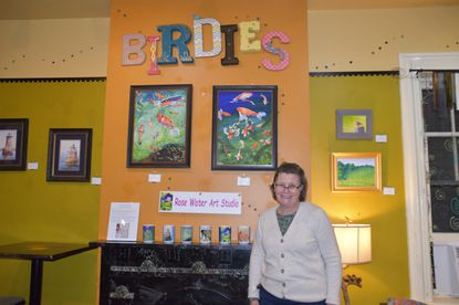 Rose Wienhoff is having a show through January at Birdies Café at 233 E. Main Street in Westminster.