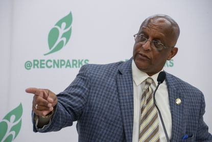"""Mayor Bernard C. """"Jack"""" Young said there have been """"some little kinks"""" related to Baltimore's Children and Youth Fund, but that year two disbursements will be made soon."""