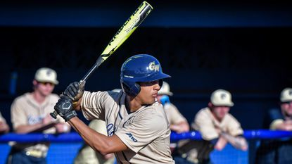 George Washington University's Isaiah Pasteur, a Winters Mill High School graduate, was drafted June 6, 2018 by the New York Yankees in the 13th round of the MLB Draft.