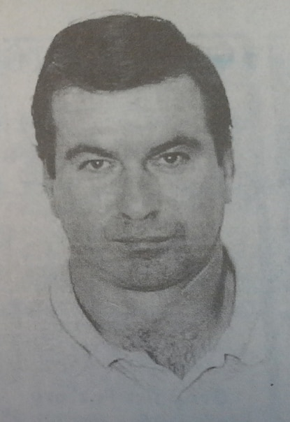 David Brian Evans, pictured here in an image published in a March 1997 article in The Aegis, evaded police after being sought for allegedly shooting his ex-wife in Harford County. In February 2016, police say he fatally shot two Harford County sheriff's deputies.