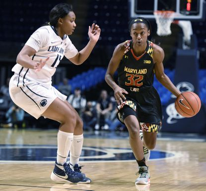 State women (Jan. 27): No. 5 Terps roll to 6th straight; UMBC wins