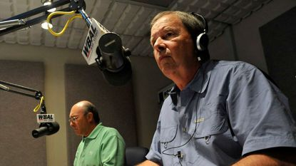 Dave Durian (right), longtime anchor and radio host on WBAL Radio, died Monday at the age of 72.