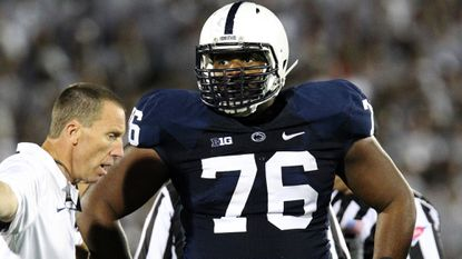 Penn State left tackle Donovan Smith, an Owings Mills graduate, has declared for the NFL draft.