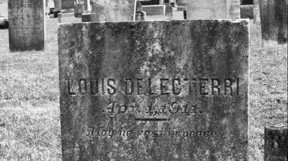 Italian immigrant Louis Delecterri had been in the U.S. eight weeks when he succumbed to pneumonia while working at the Tidewater Cemetery plant in Union Bridge. He was one of a number of Tidewater's immigrant employees who died before ever achieving success in this country.