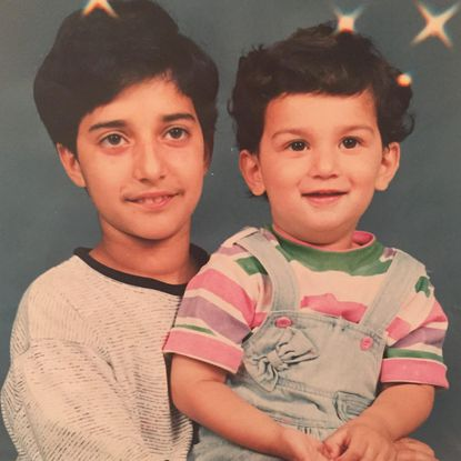 Adnan Syed as a child with younger brother.