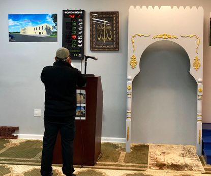 The Masjid Al Falaah mosque in Abingdon held a special prayer service April 10 to honor those on the front lines of the novel coronavirus pandemic. The mosque has been closed for worship since mid-March because of the pandemic but opened for the special call to prayer. It remains closed to worshippers.