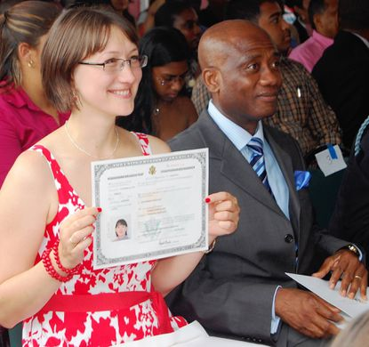 Forty become citizens on July Fourth in Annapolis