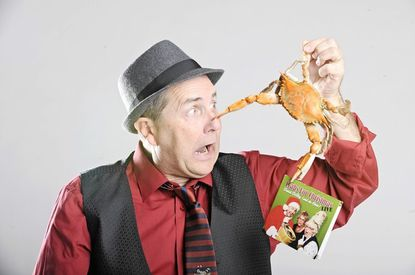 """David DeBoy, who wrote and recorded """"Crabs for Christmas"""" 30 years ago, has came out with a new album """"Crabs For Christmas Live."""""""