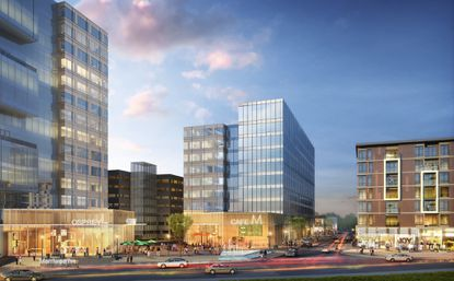 Downtown Columbia is envisioned to be the vibrant urban core of the county.