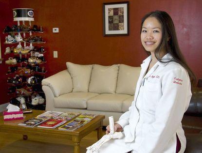Vietnamese refugee opens Jacksonville podiatry practice