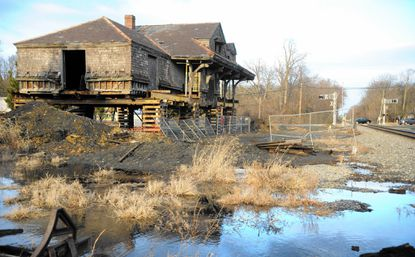 Harford County legislators have filed bills in the Maryland General Assembly seeking state funds for four local projects, including the renovation of Aberdeen's old B&O train station, above.