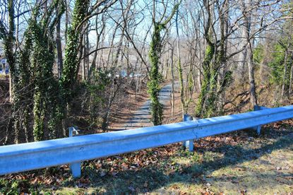 Catonsville Rails to Trails hopes to construct a path connecting its Short Line Trail, pictured, to its Spring Grove Trail via Asylum Road.