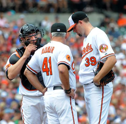 Orioles' Jason Hammel will be challenged to make it back by DL date
